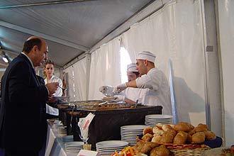 אירועים בטאג'ין קבלת פנים לבוש 2008