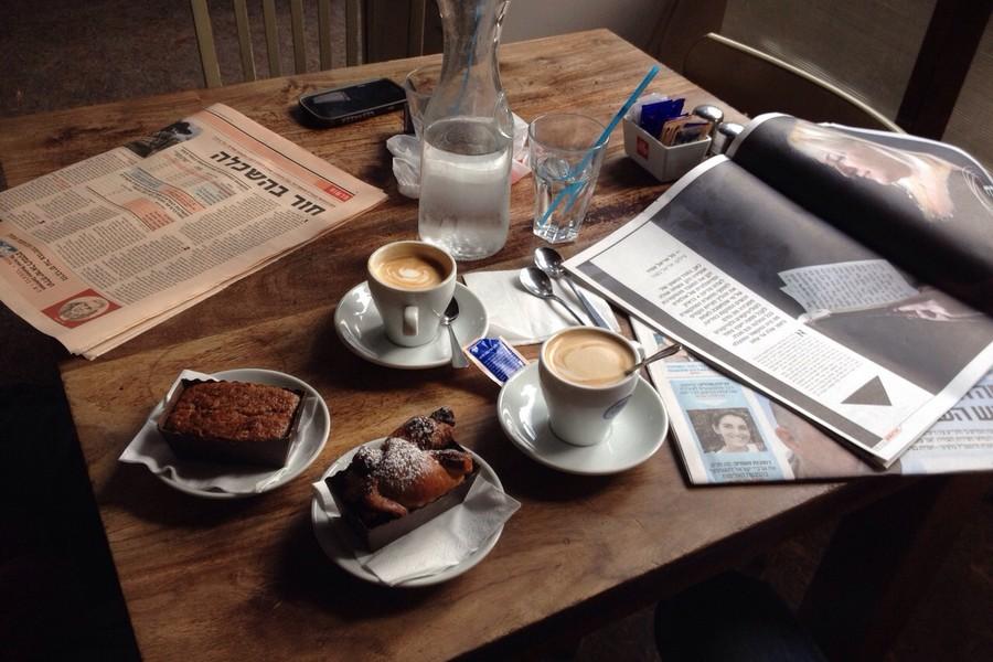 מסעדה חלבית - קפה מוסקט