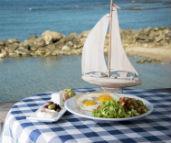 ארוחה מושלמת בביץ' בר קיסריה