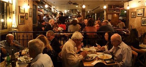 רוסטיקו - מסעדה איטלקית בשדרות רוטשילד, תל אביב