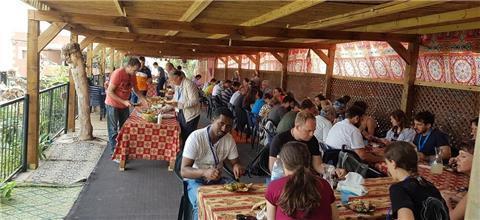 אוהל זיידאן - אירוח בדואי בסלמה