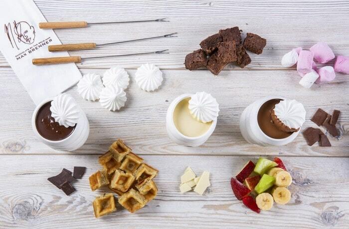 פונדו שוקולד במקס ברנר
