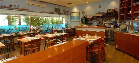 דרבי בר דגים  - מסעדת דגים במרכז