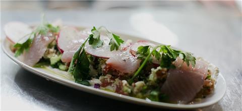חדר האוכל - מסעדה ים תיכונית בתל אביב