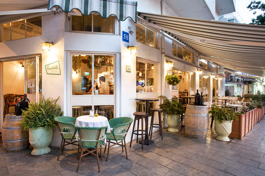מסעדה איטלקית במרכז תל אביב