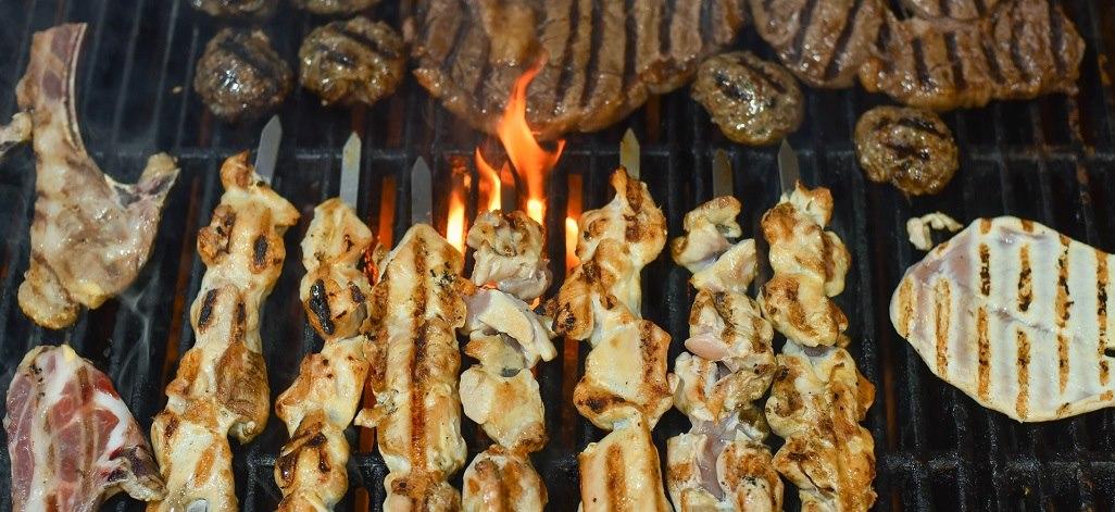 תמונת רקע מדרול מסעדת בשרים