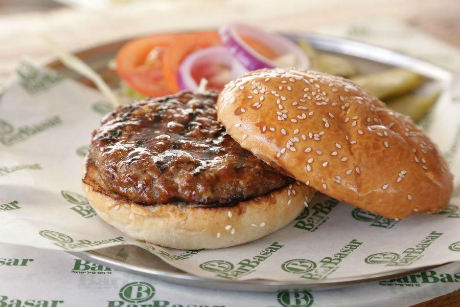 המבורגר בר בשר