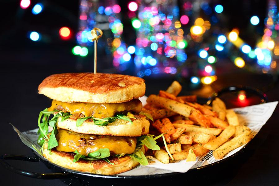 המבורגר במרכז