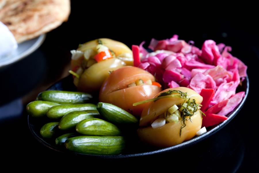 פלטת ירקות