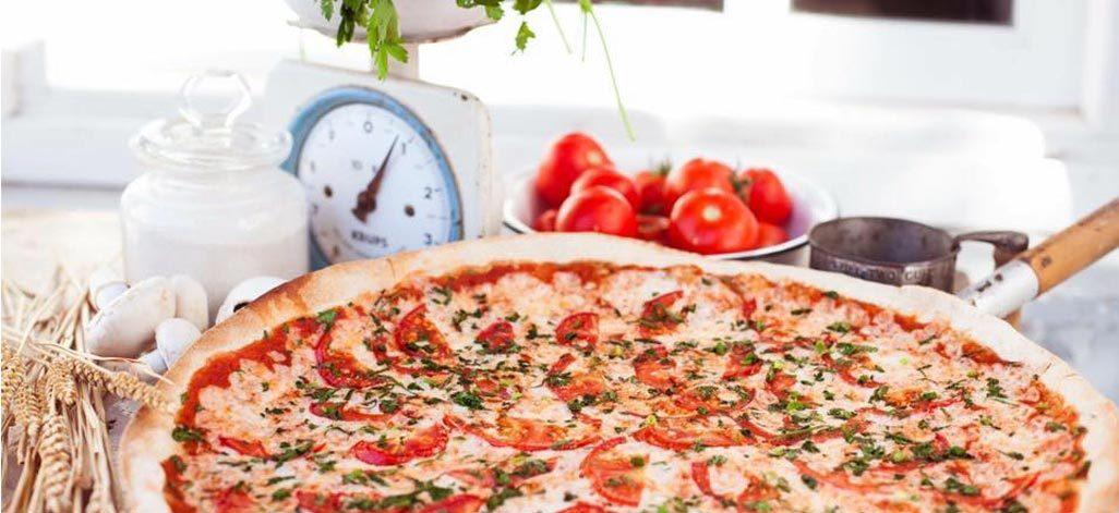 תמונת רקע פיצה עגבניה