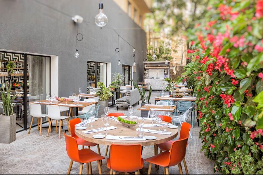 מסעדה במלון בתל אביב