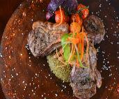 ארוחת שבת נפלאה במסעדת גני הדקל