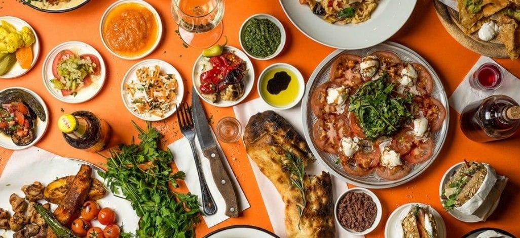 תמונת רקע אושימרקט - מתחם מסעדות