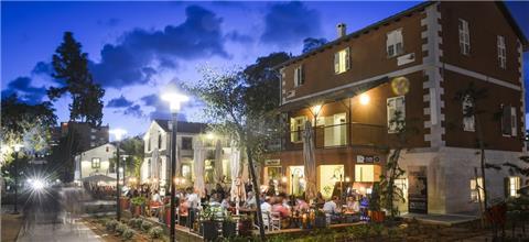 פיאצה רוסטיקו - מסעדה איטלקית במתחם שרונה, תל אביב