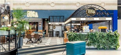 ביגה - בית קפה ברחובות