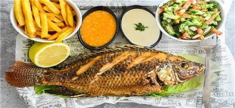 מסעדת דגי הקיבוצים - מסעדת דגים בעכו