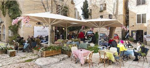 הולי קפה - holy cafe - בית קפה בירושלים העתיקה, ירושלים