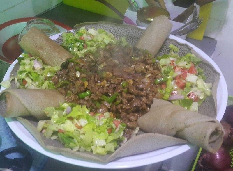 מסעדה אתיופית