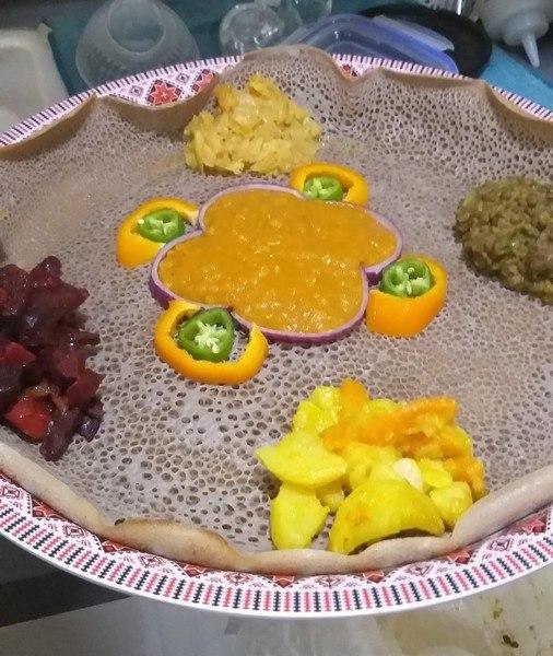 מסעדה אתיופית בחיפה