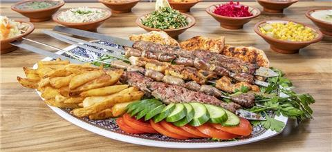 הלבנונית אבו גוש תל אביב - מסעדת בשרים בלונדון מיניסטורס, תל אביב