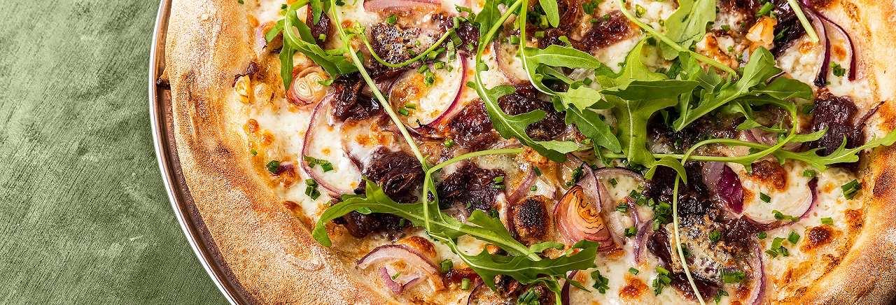 תמונת רקע פאצה פיצה בר