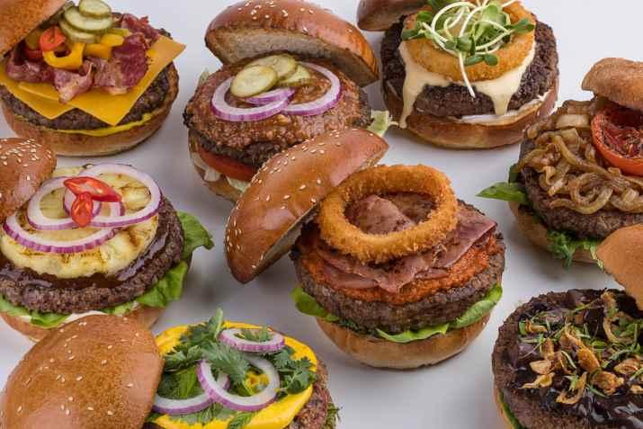 המבורגרים במוזס (צילום: חיים יוסף)