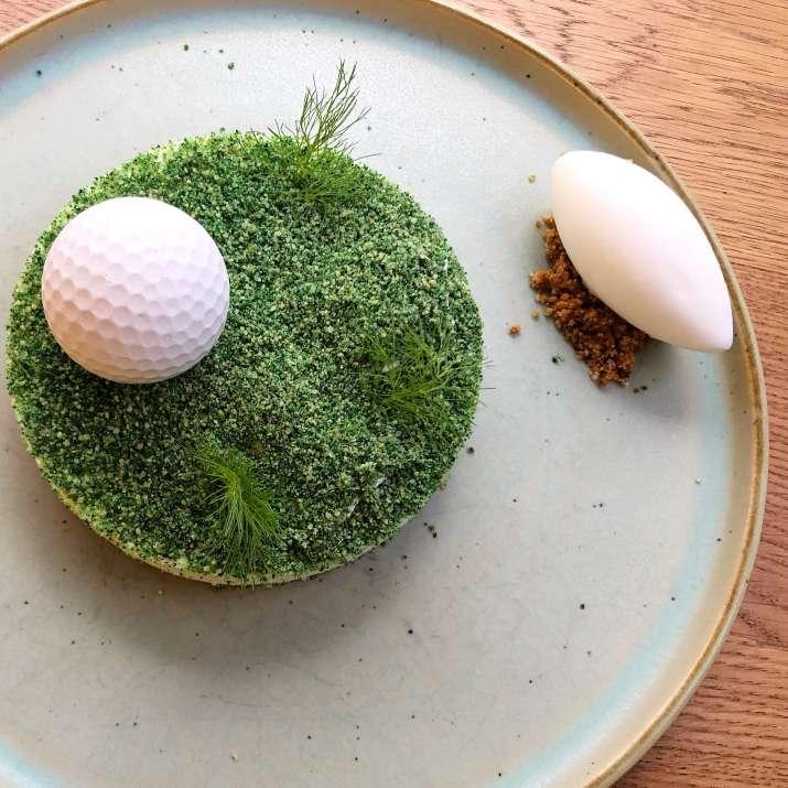 קינוח כדור גולף במריפוסה (צילום: מאיר אללאלוף)