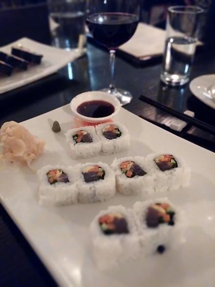 סושי במסעדת שיאן