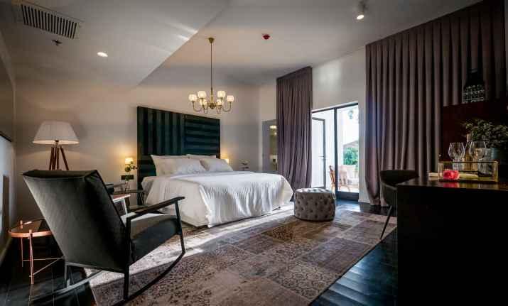 חדר במלון ליר גדרה (צילום: איתי סיקולסקי)