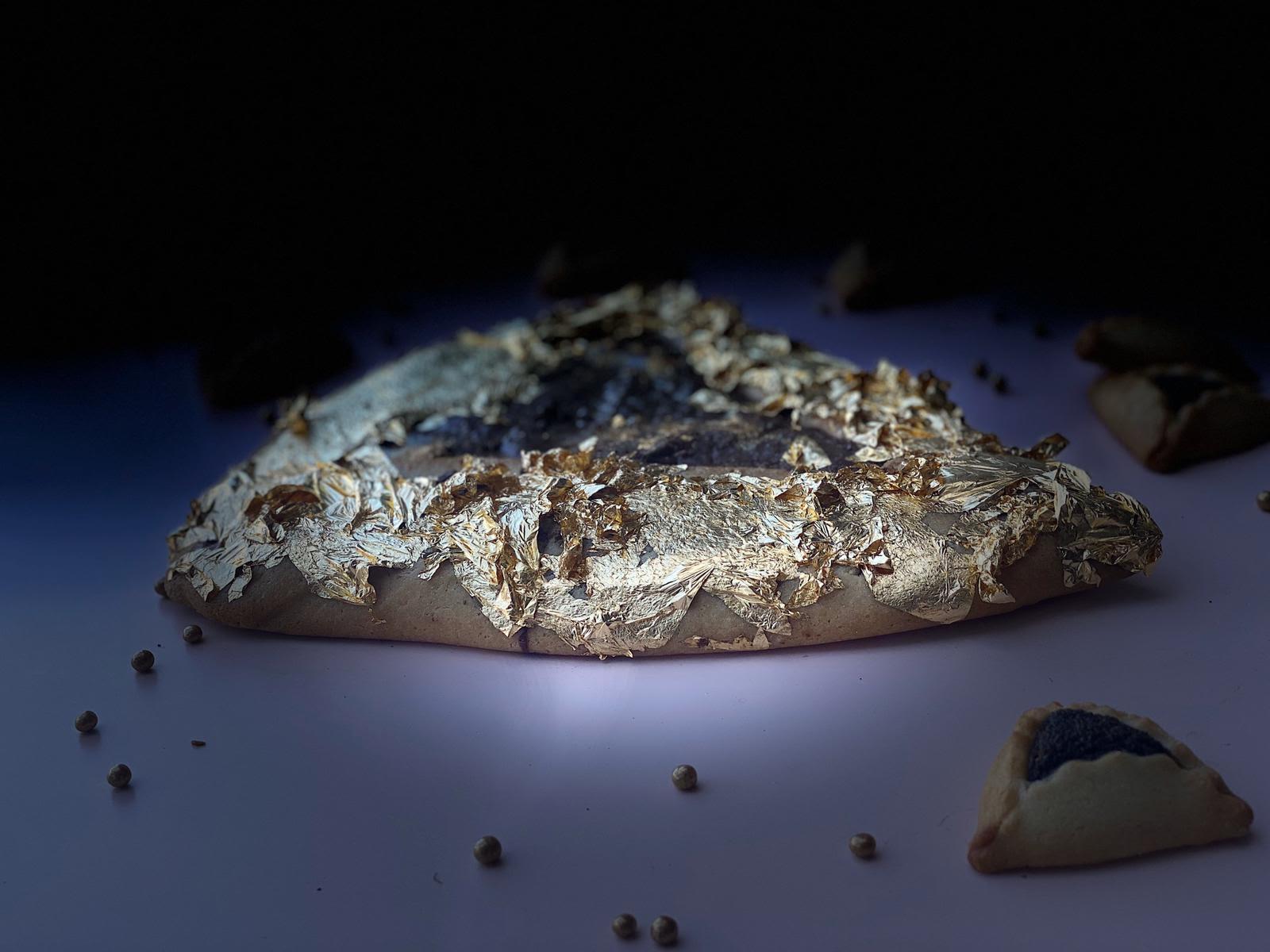 אוזן המן בציפוי זהב של בולנז'רי 96 (צילום: באדיבות המקום)