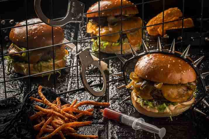 המבורגר במוזס (צילום: חיים יוסף)
