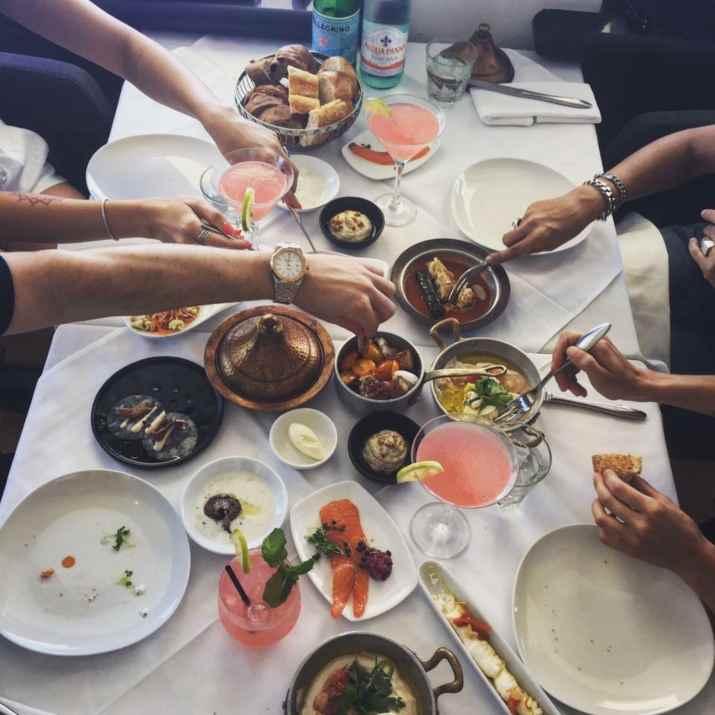 ארוחות בוקר בבלו סקיי (צילום: באדיבות המקום)