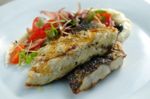 דגים טריים במסעדת בנחלה