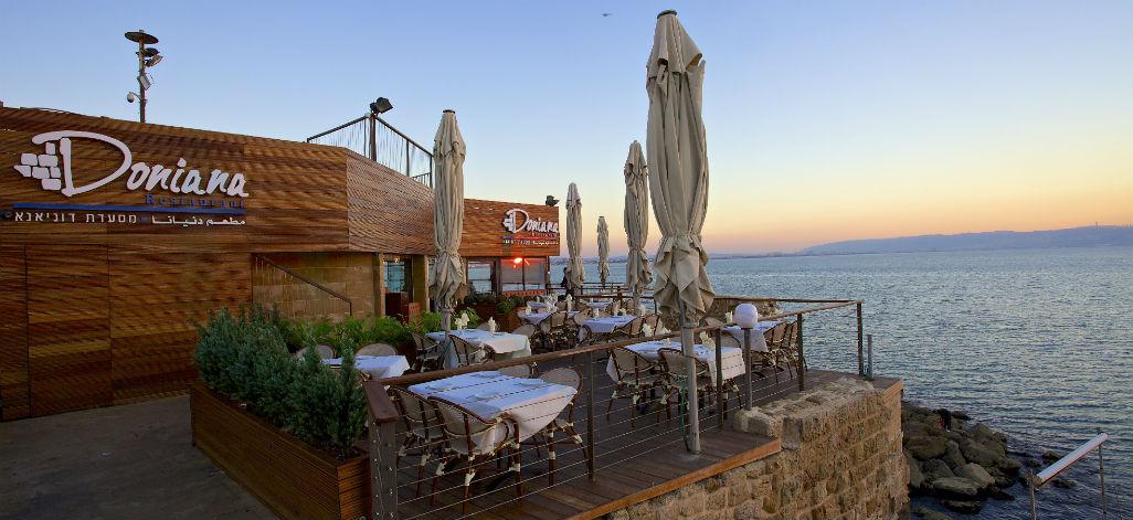 הנוף הכי יפה במזרח התיכון. מסעדת דוניאנא