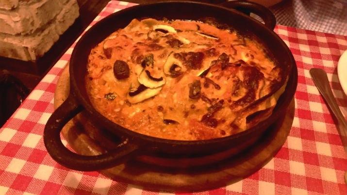 לזניה גבינות ופטריות של סופיצה