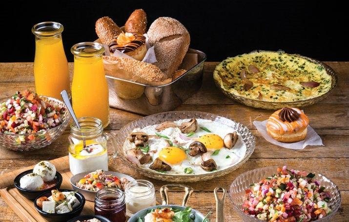 ארוחות בוקר לאורך כל היום