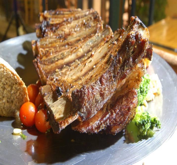 מנה במסעדת לימוזין רמת ישי (צילום: באדיבות המקום)