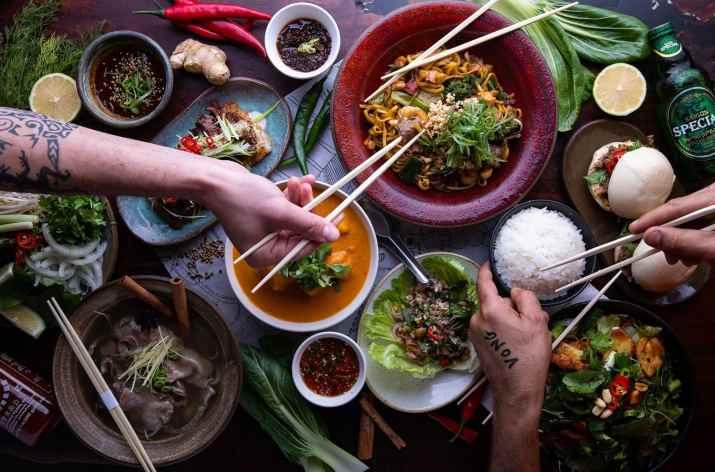 ארוחה בוונג (צילום: באדיבות המקום)