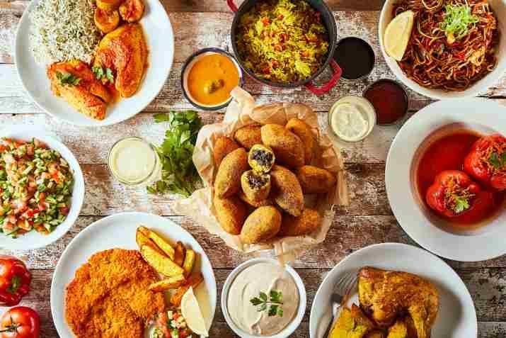 אוכל מוכן של מסעדת טעמאמא (צילום: אפיק גבאי)