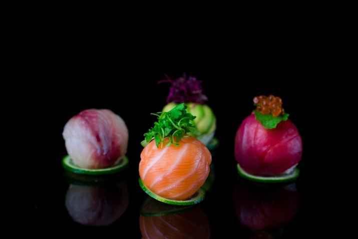 כדורי ניגירי של מסעדת סוהו (צילום: איציק בראל)