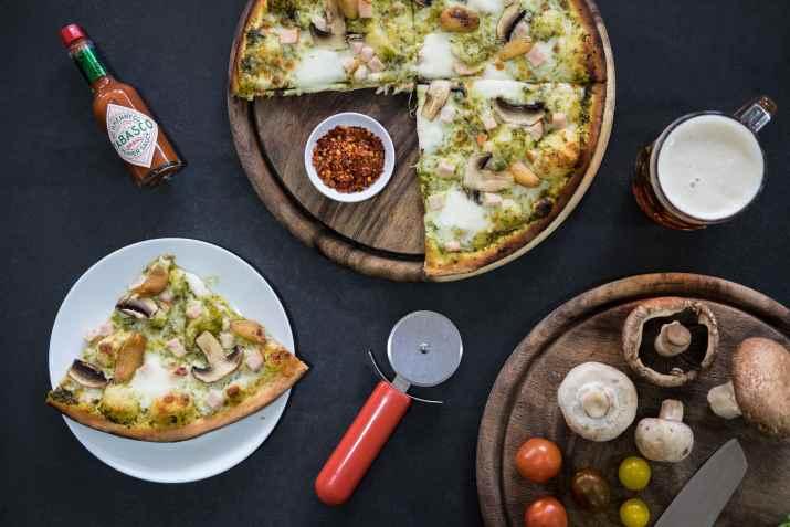פיצה פטריות של קאלדו ארט פיצה (צילום: ספיר קוסה)