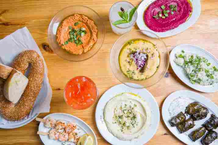 שולחן מאזות במסעדת פאראקאלו (צילום: באדיבות המקום)