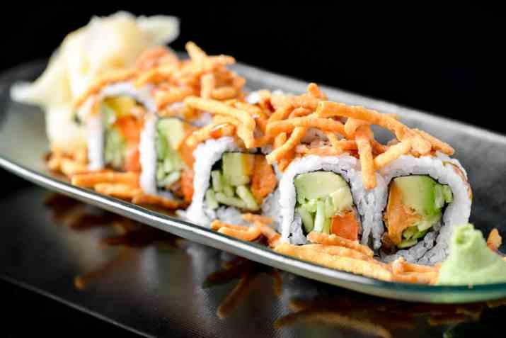 סושי של מסעדת טאיה (צילום: גליה אבירם)