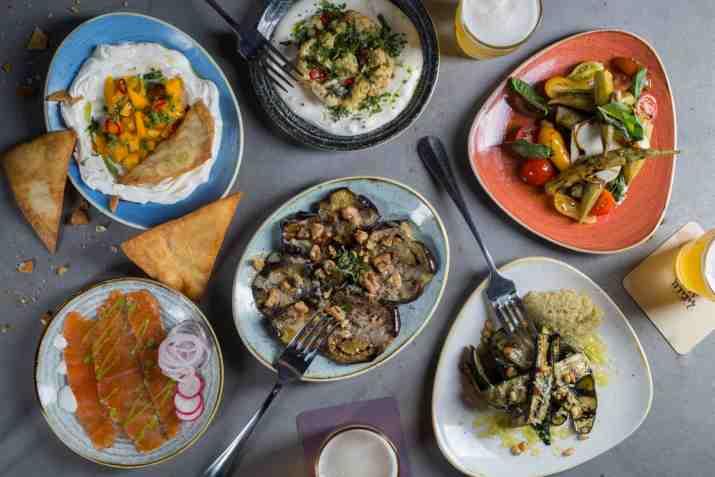 מנות ראשות במסעדת ליבירה (צילום: באדיבות המקום)