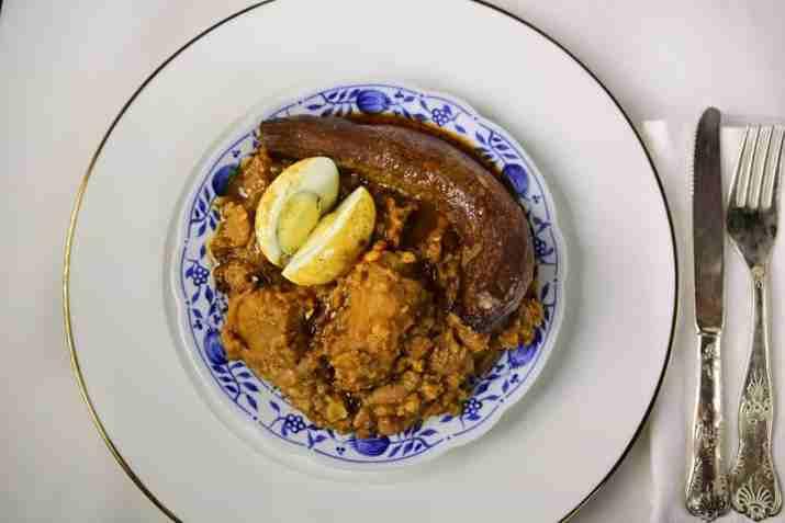 חמין של מסעדת קיטון (צילום:מיטל סלמון)