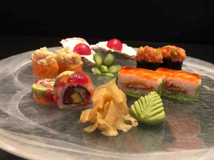 סושי של מסעדת יאקימונו (צילום: באדיבות המקום)