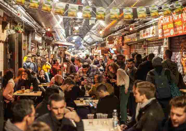 ברים בשוק מחנה יהודה בירושלים (צילום: אברהם הוסטל)