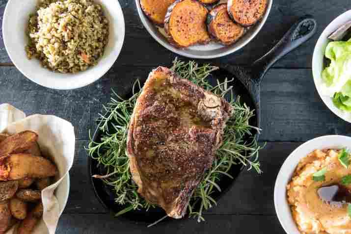 בשר במסעדת מושבוצ (צילום: באדיבות המקום)