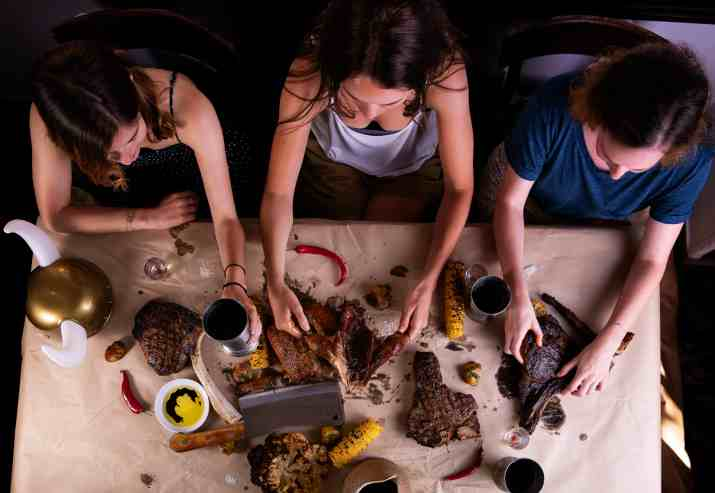 ארוחת ברברים במסעדת NG (צילום: גיל אבירם מגזין האוכל)