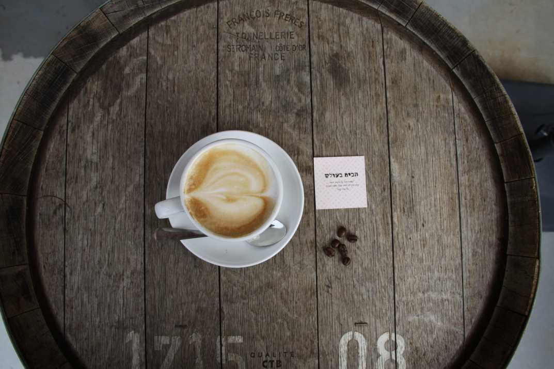 קפה במסעדת הבית בעולש (צילום: באדיבות המקום)